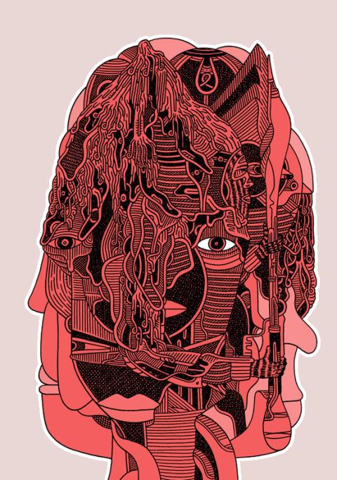 Luke Ramsey | PICDIT #design #color #illustration #art #drawing