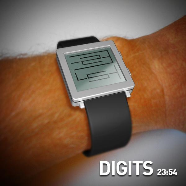 DIGITS Watch #tech #amazing #modern #innovation #design #futuristic #gadget #ideas #craft #illustration #industrial #concept #art #cool