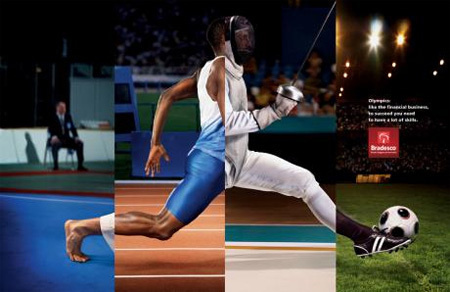 Bradesco Olympics - Fubiz™ #olympics #sports