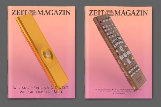 Zeit Magazin by Tom Darracott #tom #design #graphic #darracott