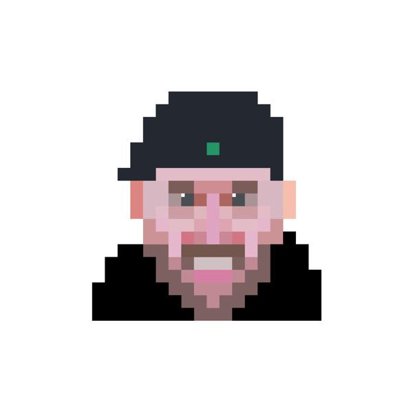 Logos 2013 on Behance #logo #design #pixel #portrait