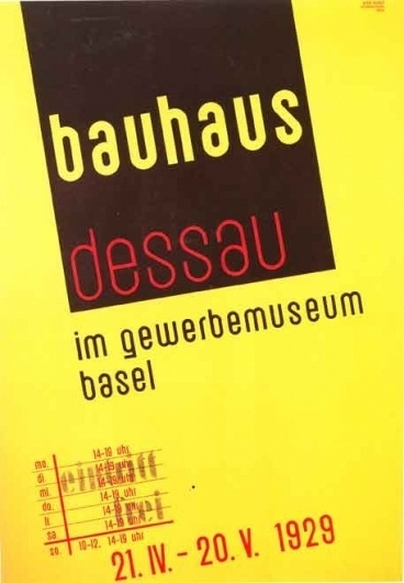 Bauhaus_poster.jpg 457×658 pixels #bauhaus #poster