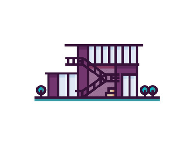 #House #Home #Place #Architecture #Illustration