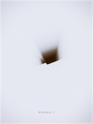 Minimal II / III on the Behance Network #cover #abstract #minimal