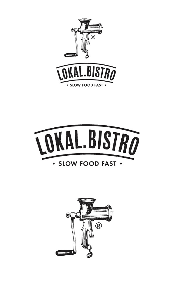 LOKAL.BISTRO® on Branding Served #branding