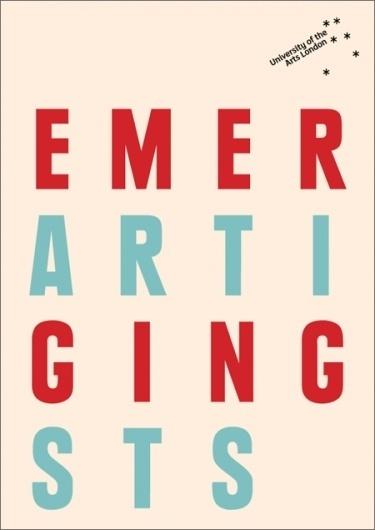 UAL Emerging Artists : DAVID PRESTON STUDIO #preston #cover #studio #booklet #david