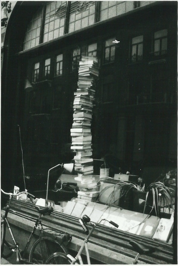 Photo of the Day: 7/22/12 #white #stack #books #black #photography #reading #and #tower