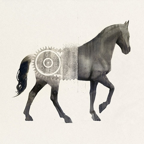 FFFFOUND! | Afghanistan « Sam Weber #acad #horse #graphic #illustration #samweber