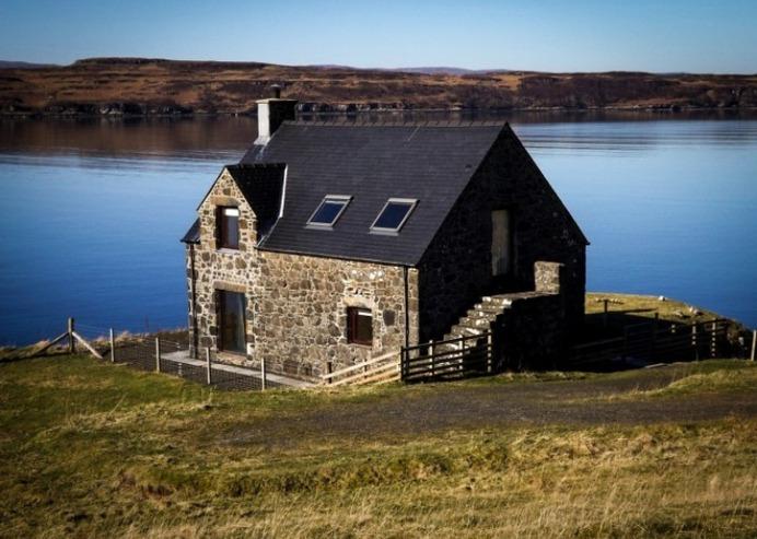 Remote Accommodation Scotland - Kingsburgh Boathouse Skye