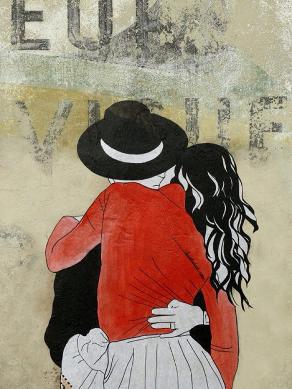 10 Breathtaking Pieces of Love Street Art #love #art #street