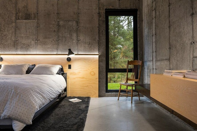Abercorn residence - A Playful Rural Industrial Aesthetic