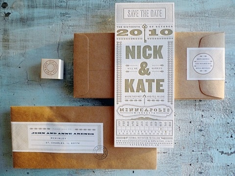 FFFFOUND! | Oh So Beautiful Paper #wedding #invitation