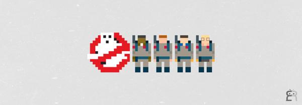 Mini Pikzels #ghost #edzel #pixel #rubite #buster #monster #sknny