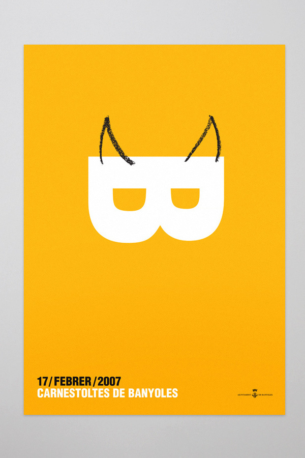 La Fonda grà fica #typography #carnestoltes #illustration #poster #party