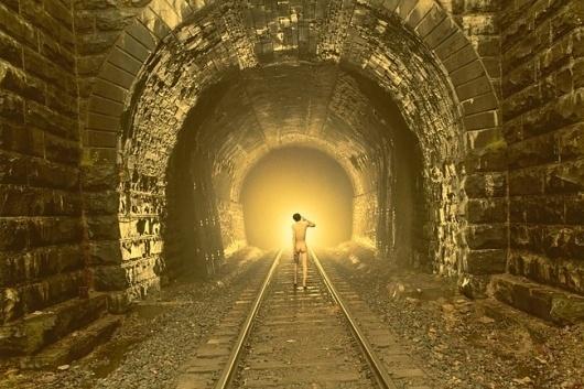 Ryan McGinley #tunnel #mcginley #ryan #golden