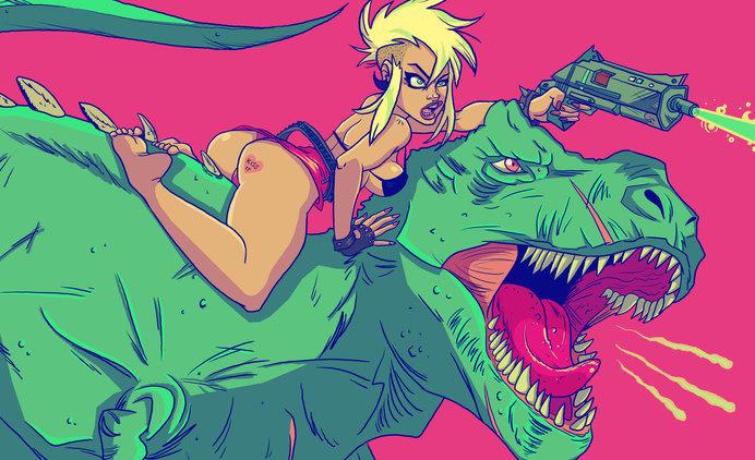 dinosaur laser battle by kayliesaurus-rex on deviantART #dinosaur #battle #laser