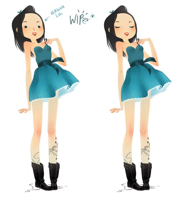 women_tumblr2 #illustration #character