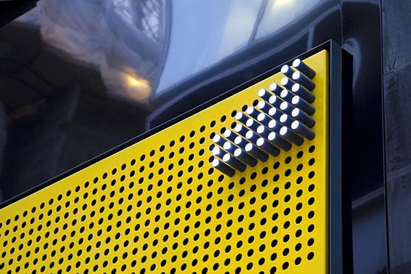 dn #branding #yellow #moorgate #exchange #dn&co