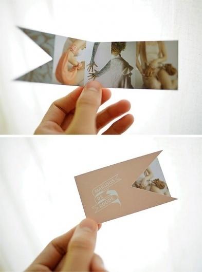 design / business card #fold #card #business #diecut