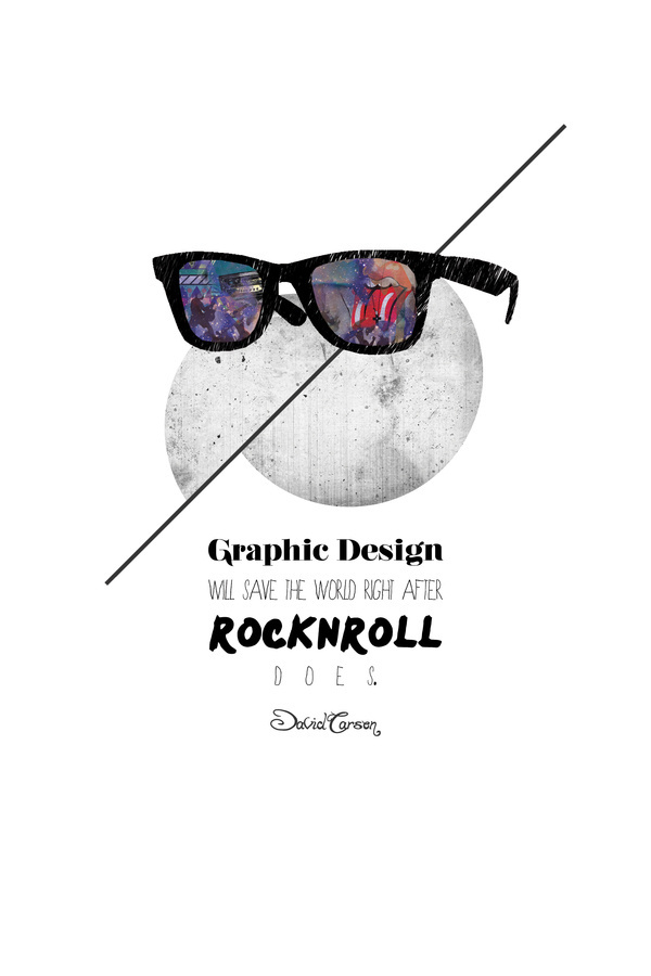Design Will Save The World. #quote #design #graphic #carson #poster #david