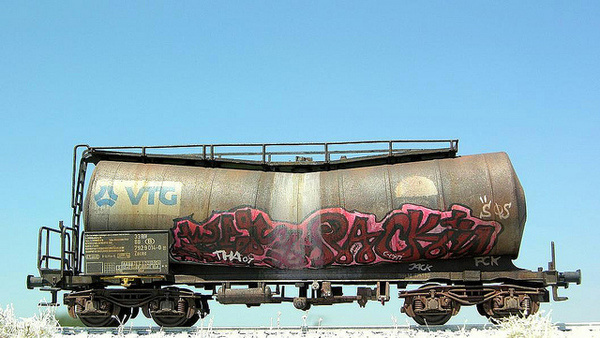 Zacns H0 Roco Graffiti #train #model #graffiti #diorama #photography #railway #miniature