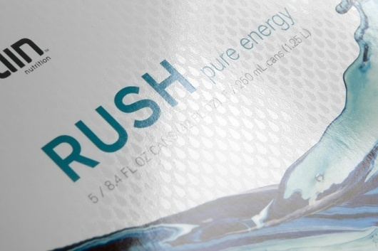 Rain - TheDieline.com - Package Design Blog #modern #packaging #drink #design #rain #minimal #energy