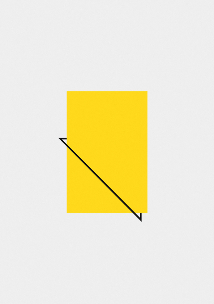 pocket #shapes #minimalist #yellow #geometry