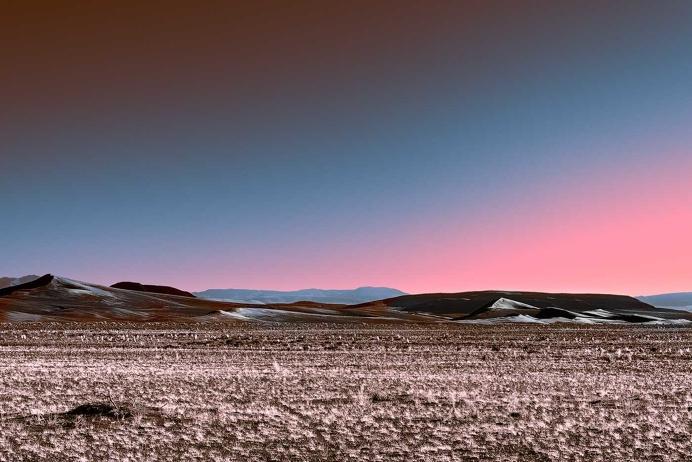 Neon Desert: Mysterious Lights of Desert by Stefano Gardel