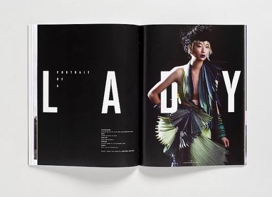 Magazine and Editorial Graphic Design Inspiration - MagSpreads #design #toko #spread #magspreads #editorial #magazine #typography