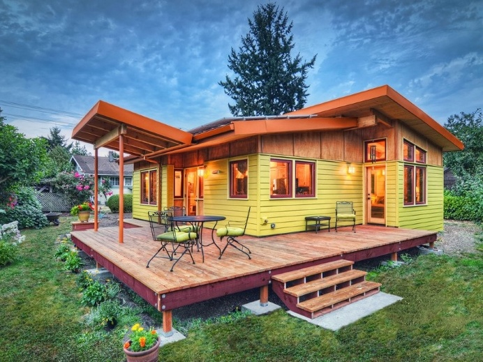 Sustainable hybrid timber-frame Mini Home