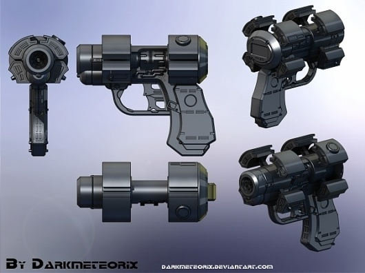 Gantz – X Gun #gun #weapon #future #design