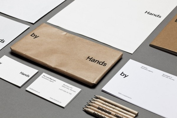 by Hands #print #by #identity #kraft #hands #pencil