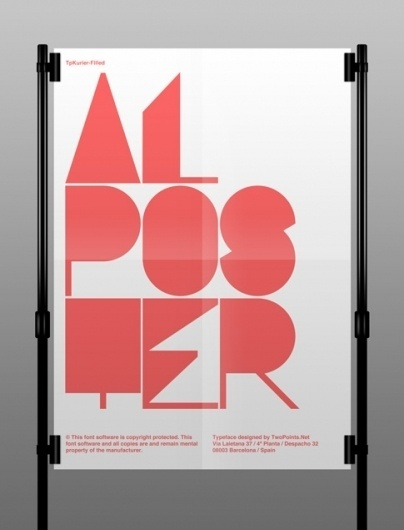 TwoPoints.Net | International Bureau of This And That #postermtypography #design #graphic