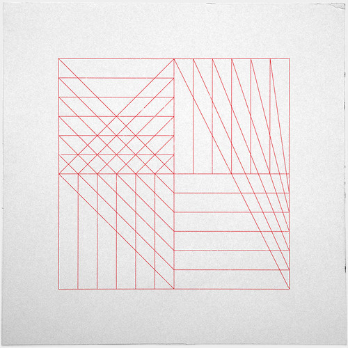 #315 Relationships – A new minimal geometric composition each day