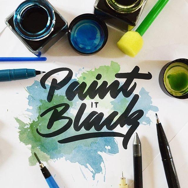 Paint it Black 👅