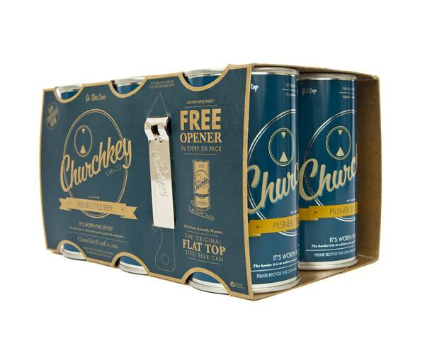 lovely-package-churchkey-4 #packaging #beer #minimalist #beverage