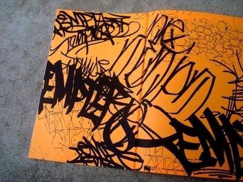 eyeone   seeking heaven #tempt #zine #graffiti #design #handstyles #one #typography