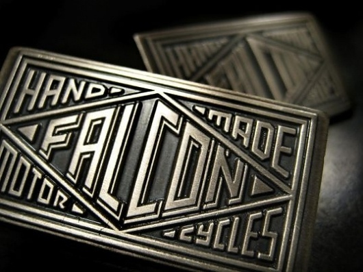 Falcon Motorcycles : Falcon News and Updates #metal #type #logo #typography