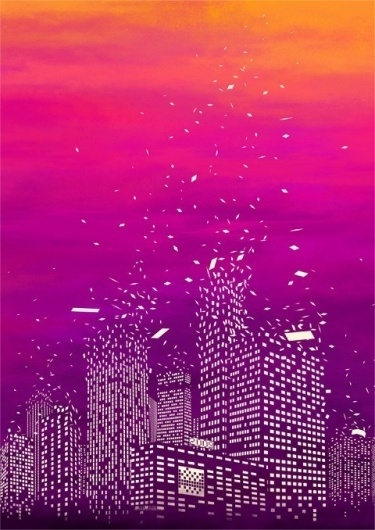 delicious design / by tan yau hoong #tan #illust #yau #city #illustration #surreal #hoong