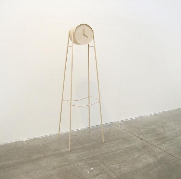 Tick Tock Wooden Clock by Charlotte Ackemar #clock #design #minimal #wooden