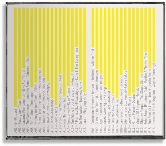 Corey Holms - Stolen Music 2009 #packaging #bright #typography