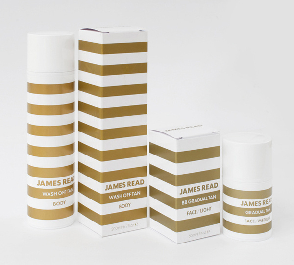 James Reed designed by Studio Makgill #packaging #design #graphic #gold