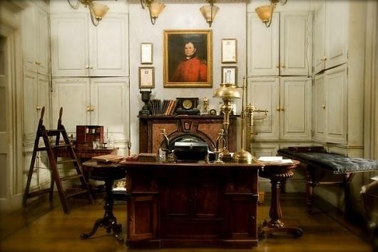 film decor - Set Decorators Society of America #interior #sherlock #design #set #film #holmes