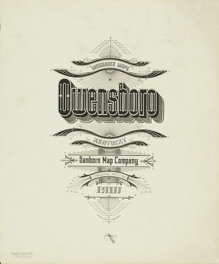 Best Sanborn Map Typography Company le images on Designspiration on