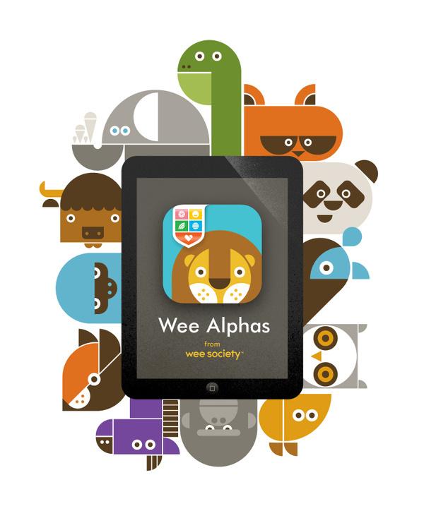 764x944_app_family_iPad #illustration #app #animals
