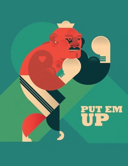 The Boxer Dylan Jones #illustration #boxer