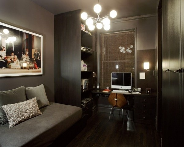 Home office with art decor #spec #that #certainly #affe #a #designers #you #agency #con #of #de #fan #the #are #art #right #when