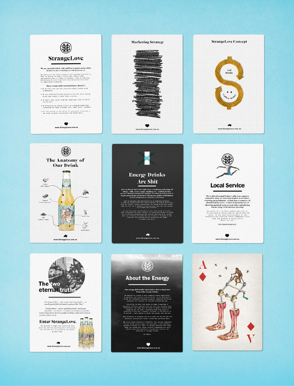 StrangeLove Promotional Gift Marx Packaging #design #graphic