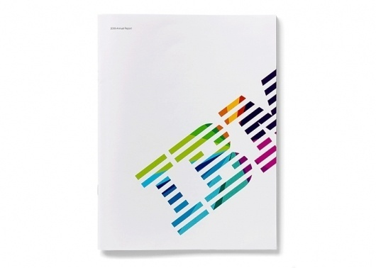 IBM 2009 print annual report | VSA Partners #vsa #annual #ibm #report #partners