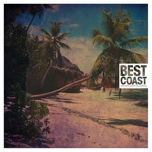 Best Coast Album Design #so #album #sun #i #best #dodaro #art #jen #was #high #coast